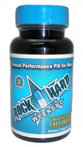 """The FDA recently forced a recall of Rock Hard Weekend """"all-natural"""" herbal supplement."""