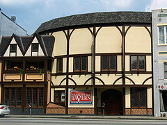 Nested on Peachtree street in downtown Atlanta, the Shakespeare Tavern brings fun and lively humor to the works of Shakespeare.