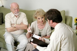 Older couples who encounter physical obstacles to a healthy sex life should consult their doctor to see what steps can be taken to remove such barriers.