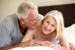 For post-menopausal women and those whose natural lubrication is no longer sufficient, using a personal lubricant can ease the discomfort of sexual intercourse.