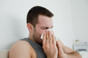 Even though you'll escape the grass and tree pollen of the warm-weather months, winter offers no real escape from allergies.