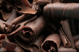 Dark chocolate is high in flavonoids that promote healthy circulation.