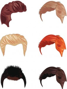 Hair replacement options allow a man who has lost most of his hair to select the color and hair style that most appeal to him.