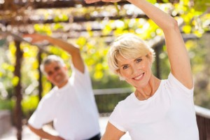 If your male partner's doctor thinks a program of regular exercise will help, you can show your support by joining in.