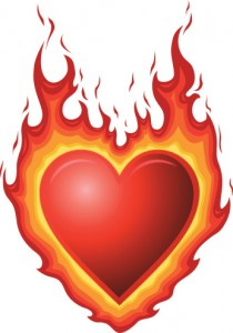 Heartburn has nothing to do with the heart, but it is a symptom associated with acid indigestion or GERD.