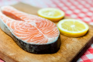 Salmon is rich in omega-3 fatty acids that help promote vascular function, which is essential to the erection process.