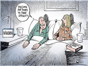 This cartoon perfectly captures a common male misconception about Addyi, the new drug designed to fire up the female libido.