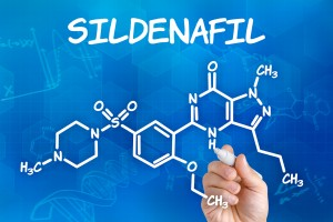 Here's the chemical formula for sildenafil, the active ingredient in Viagra.