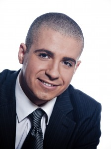 This man has a full head of hair but has opted for the shaved-head look, which scalp micropigmentation can replicate.