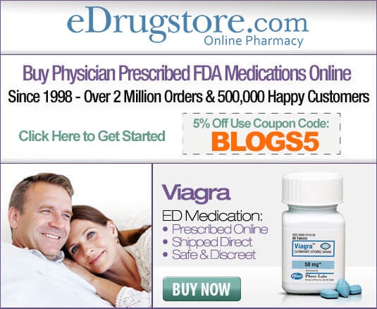 Buy Viagra Legal FDA-approved prescription medication for Erectile Dysfunction From eDrugstore.com