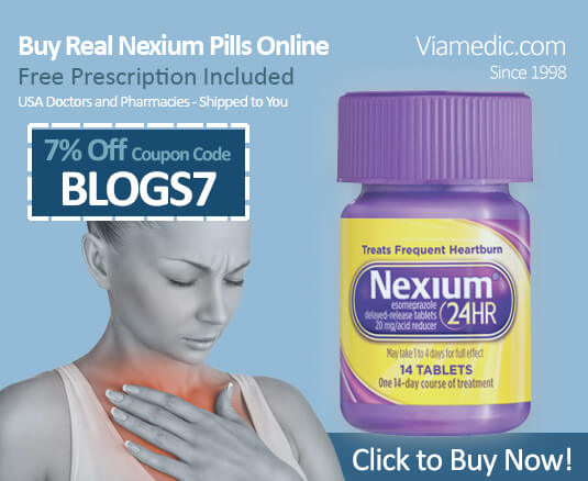 Buy Legal FDA-approved prescription medication Nexium for Acid Reflux From AccessRx