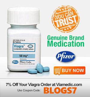 Penis with and without viagra