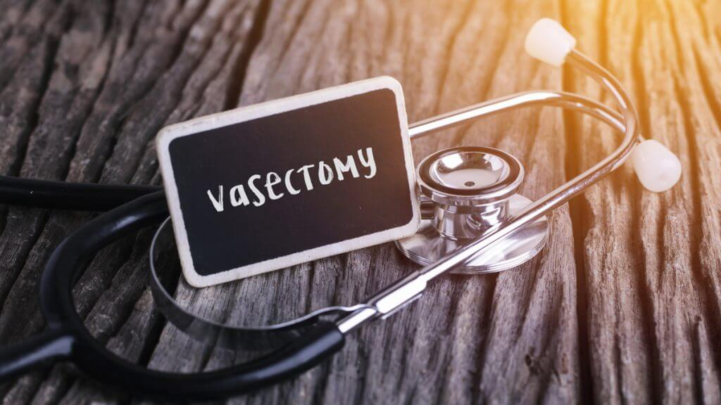 Vasectomy sign.