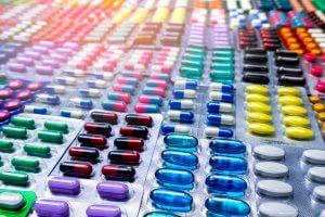Various pills.