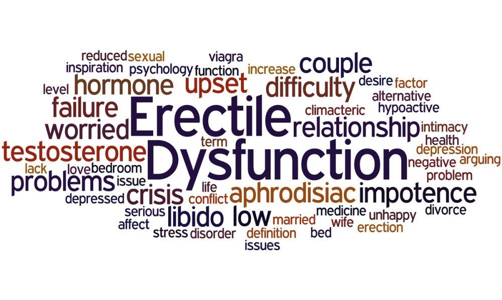 Erectile dysfunction.
