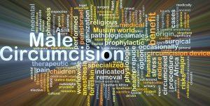 Male circumcision.