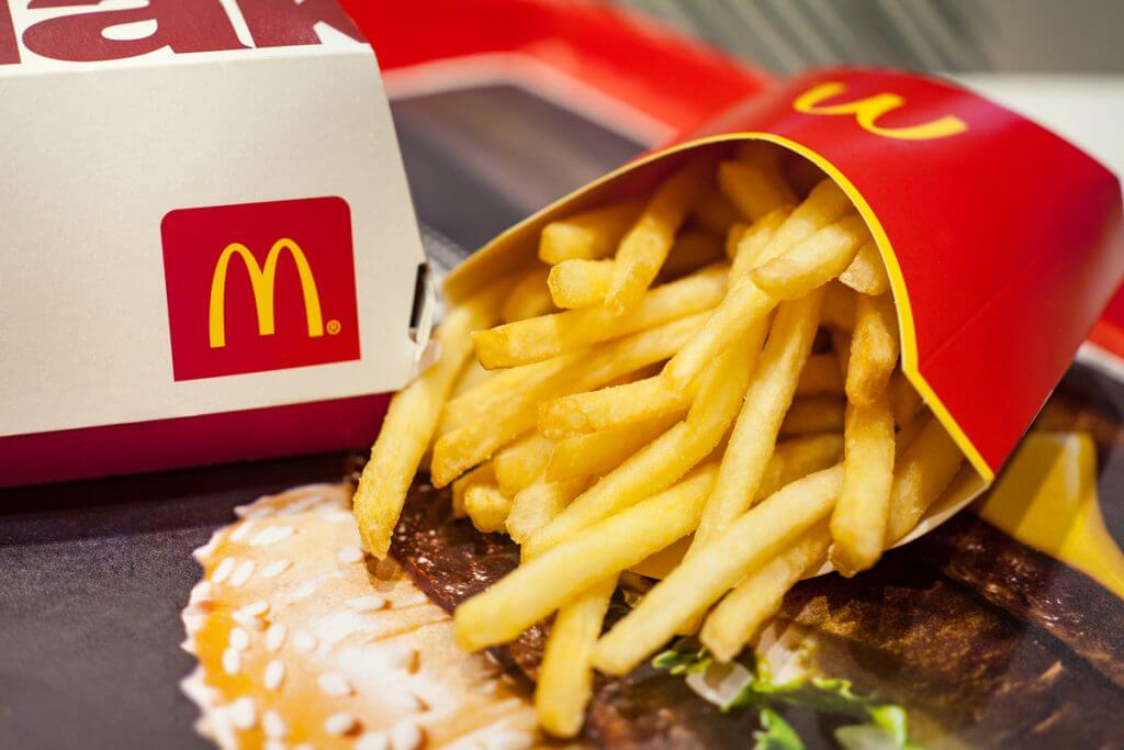 Macdonalds meal.