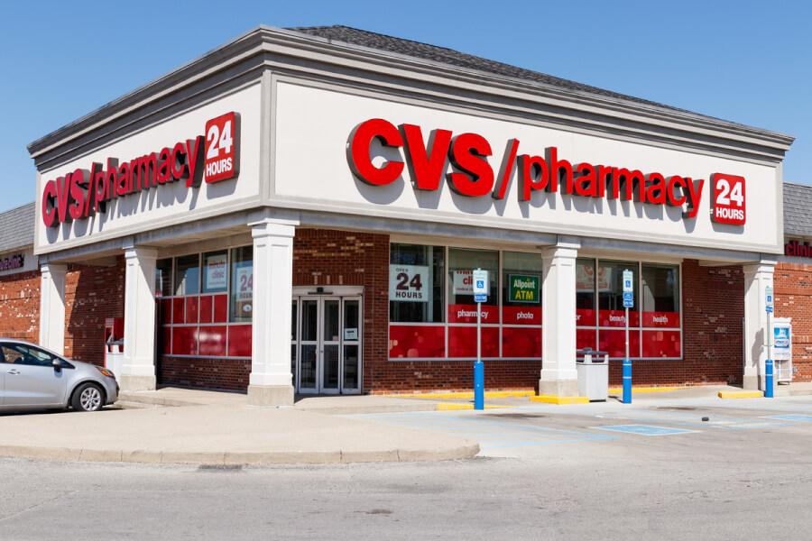 CVS pharmacy store.