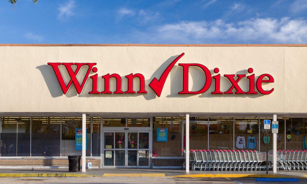 WinnDixie store front.