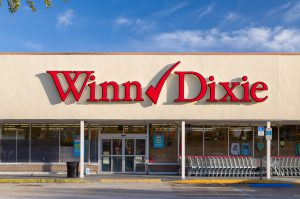 WinnDixie store front.