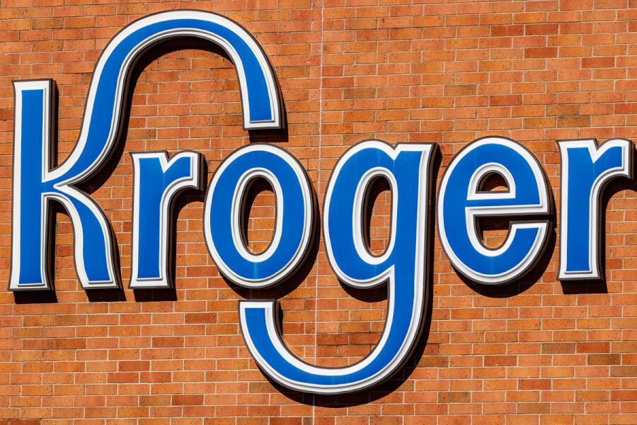 Kroger sign.