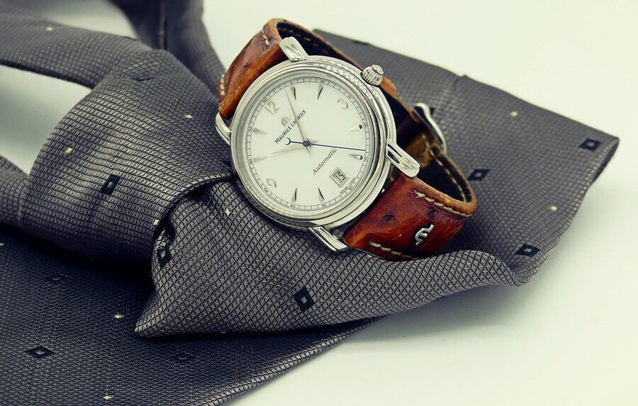 Watch and Tie.
