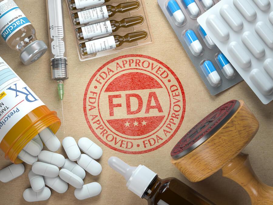 FDA approval stamp