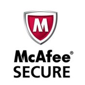 Edrugstore is protected with McAfee